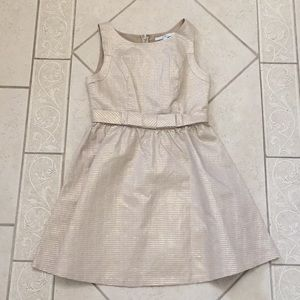 Gold Lauren Conrad cocktail dress